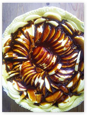 tarte pomme caramel beurre salé