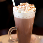 Chocolat chaud au caramel beurre salé