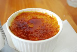Creme brulée au caramel beurre salé