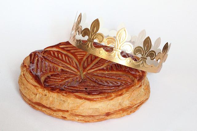 Galette des Rois pommes et caramel
