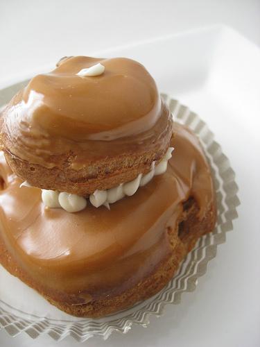 Religieuses au caramel