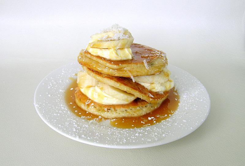 Pancakes caramel